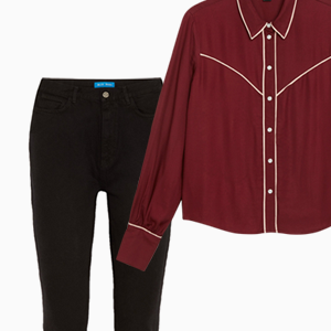Комбо: Ковбойская рубашка c джинсами — Стиль на Wonderzine