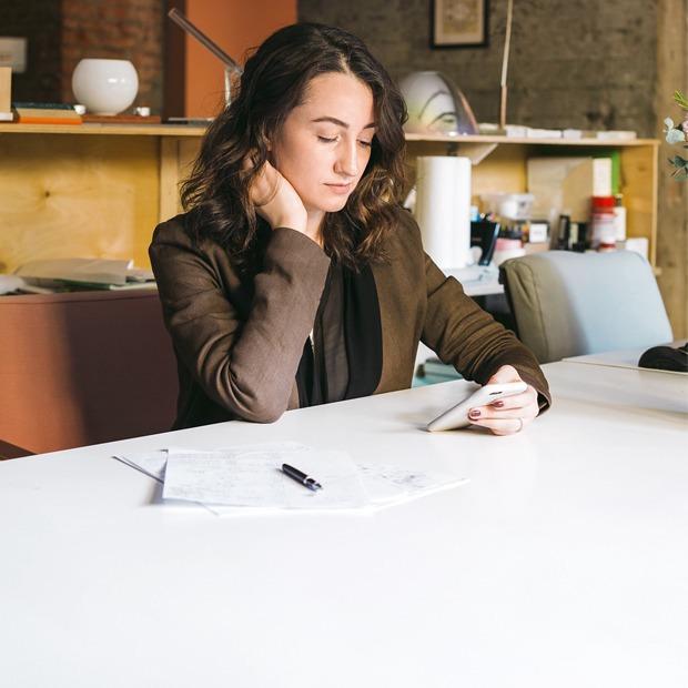 Архитектор Nowadays Ната Татунашвили в своём офисе — Комната на Wonderzine