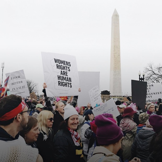 Участницы «Women's March on Washington» об акции протеста