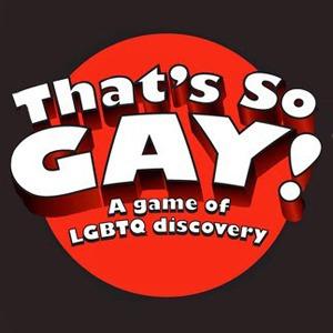 Радужная настольная игра «That's So Gay!»