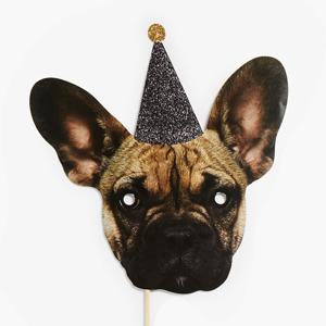 Маски для вечеринок в виде умилительных животных — Вишлист на Wonderzine