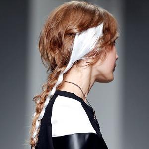 Как повторить лучшие прически London Fashion Week — London Fashion Week FW 14 на Wonderzine