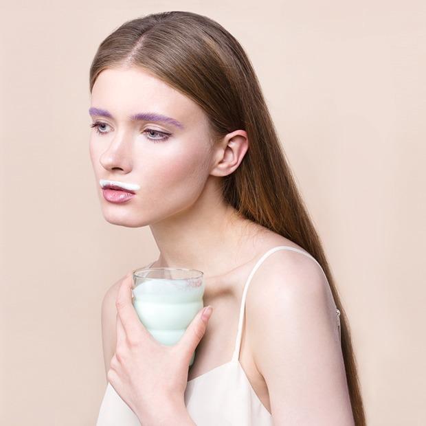 6 вариантов макияжа  с цветной тушью