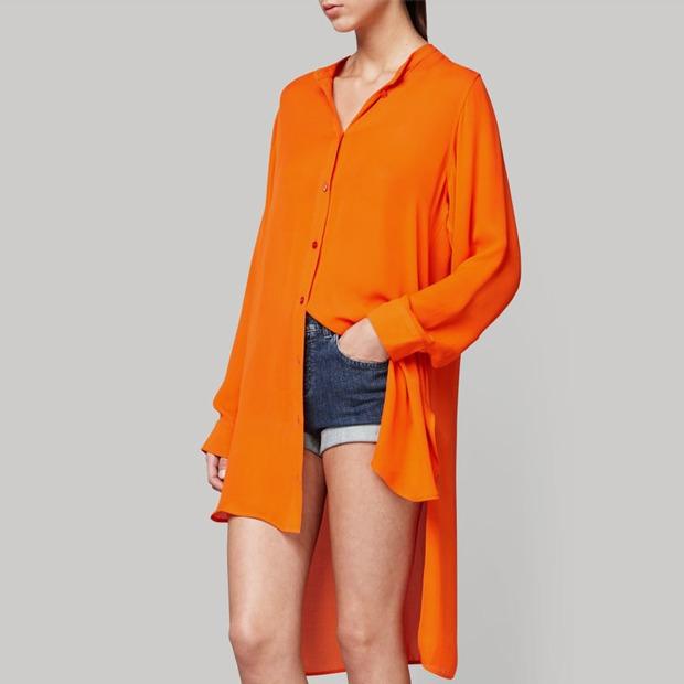 Платья-рубашки  в весенне-летних коллекциях — Тенденция на Wonderzine