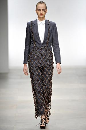 Показы на London Fashion Week SS 2012: День 5 — London Fashion Week на Wonderzine