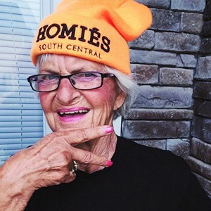 Новое имя:  Модная пенсионерка  Бадди Винкл — Стиль на Wonderzine