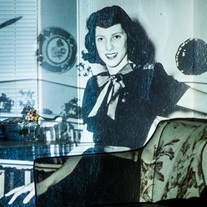 «Проекции прошлого»: Оживший семейный фотоальбом — Фотопроект на Wonderzine