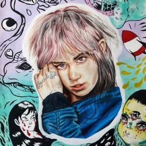 На кого подписаться: Инстаграм с рисунками Grimes и её фанатов — Искусство на Wonderzine