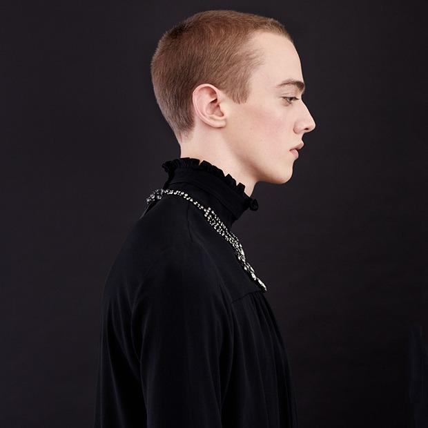 Нежный возраст:  Блузы и рубашки  с высоким воротом