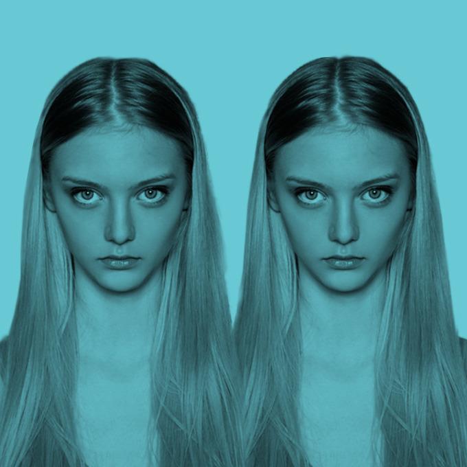 Одно лицо: Модели-двойники — Красота на Wonderzine
