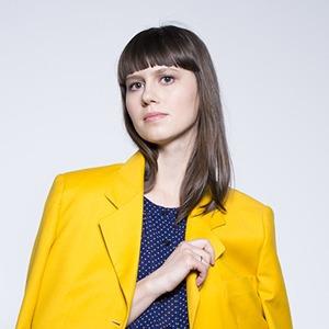 Полина  Проскурина-Янович,  автор проекта Kontrabas — Героини на Wonderzine