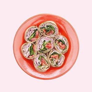 Домашняя вечеринка:  5 рецептов быстрых  и полезных закусок — Еда на Wonderzine