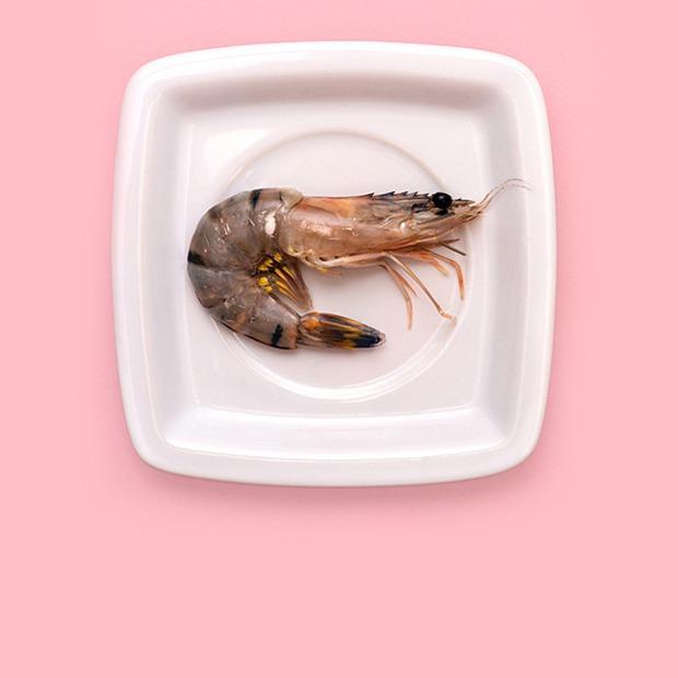 Креветки: Жаренные с чесноком и чили