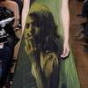 На одежде Giles напечатали кампанию Prada