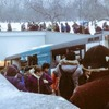 В Москве автобус въехал  в подземный переход