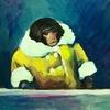 Обезьяна-мем в пальто научилась быть обычным приматом