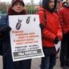 В нескольких городах России прошли митинги против «закона о шлепках»