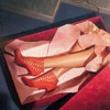 Женские ноги в подарочной упаковке — так выглядит лукбук Louboutin