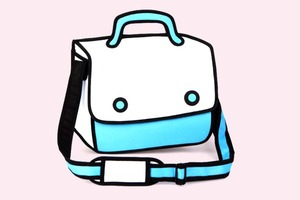 Интернет покорили «нарисованные» сумки JumpFromPaper