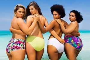 Swimsuits For All показали здоровое «пляжное тело»