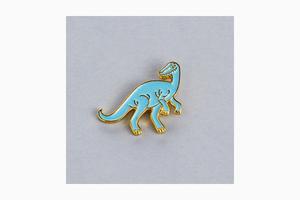 Альберт и друзья: Значки «Подписных изданий»  с динозаврами