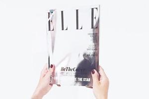 Австралийский ELLE вышел с зеркальной обложкой