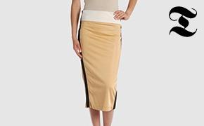 Тенденция: юбки-миди