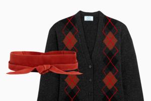 Комбо: Чёрное с красным
