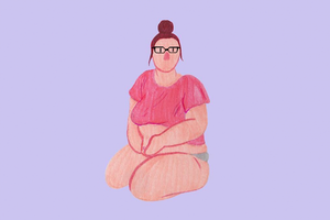 На кого подписаться: Инстаграм с бодипозитивными рисунками Pink Bits