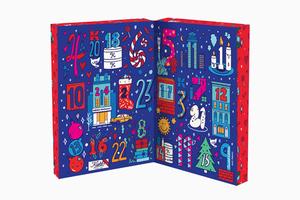 Красивый и полезный адвент-календарь Kiehl's