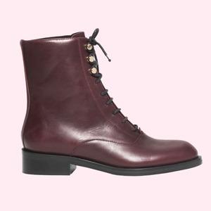 Что носить осенью:  10 пар высоких ботинок  на шнуровке