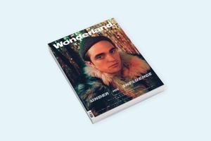 Эксцентричный Роберт Паттинсон на обложке журнала Wonderland
