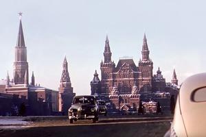 В закладки: Москва 50-х на фото и видео Мартина Манхоффа