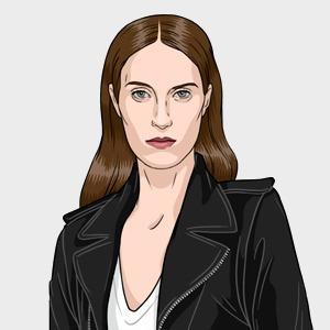 Ванесса Трейна, модель и стилист