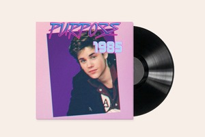 Песни Джастина Бибера переделали в стиле 80-х