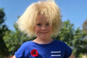 На кого подписаться: Девочка с нерасчёсываемыми волосами
