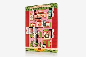 Подарочный календарь с набором косметики  Benefit