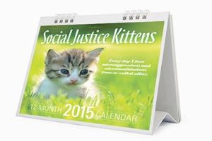 Календарь  со здравомыслящими  котятами на 2015 год