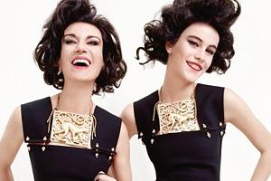 В новой рекламной кампании Lanvin снялись модели и их дочери