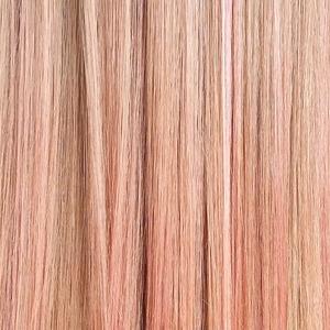 Розовое золото: Новый хит  в окрашивании волос,  нейл-арте и макияже