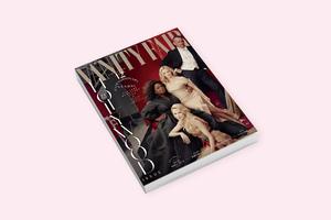 На «голливудской» обложке Vanity Fair перемудрили  с фотошопом