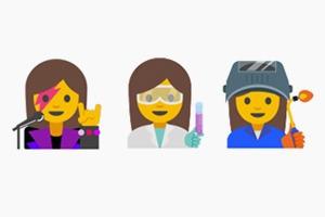 Google предложил эмодзи профессий без гендерных клише