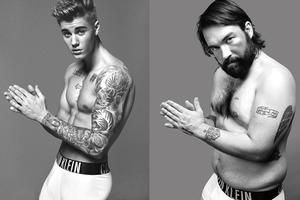 Обычные мужчины воссоздали рекламу белья Calvin Klein