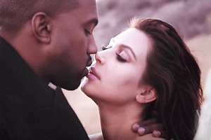 Тыдыщ: Ким и Канье  на обложке Vogue