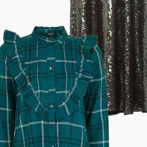 Трикотаж с кроссовками, пуховик с платьем: Как сочетать модные вещи