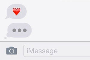 СМС-переписка многое говорит о состоянии отношений