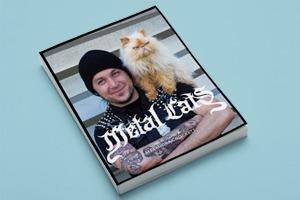 Фотоальбом «Metal Cats»  с котиками и металлистами
