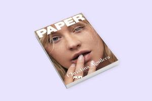Кристина Агилера снялась для обложки Paper  без макияжа