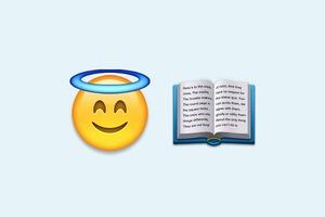 Библию перевели на язык эмодзи