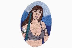 На кого подписаться: Ханна Хилл и её феминистская вышивка